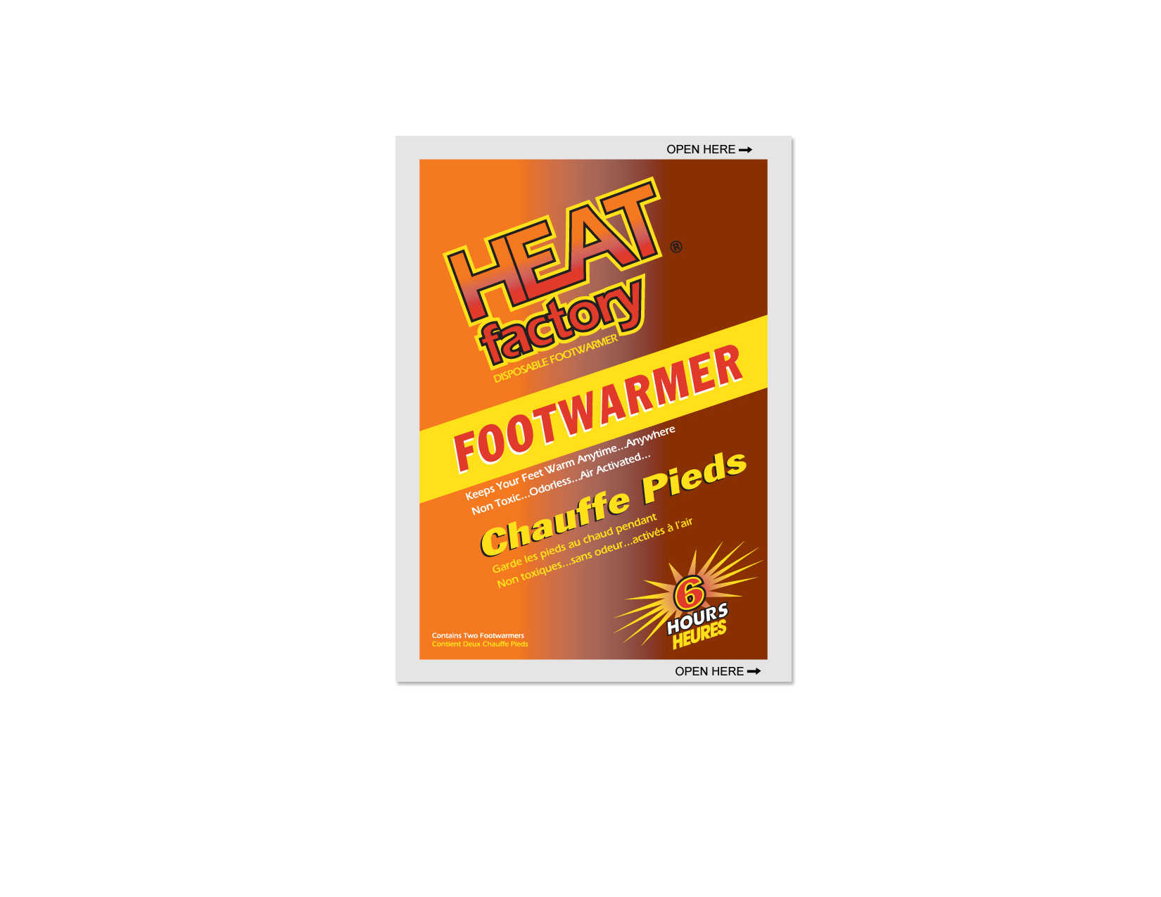 Heat Factory Footwarmer