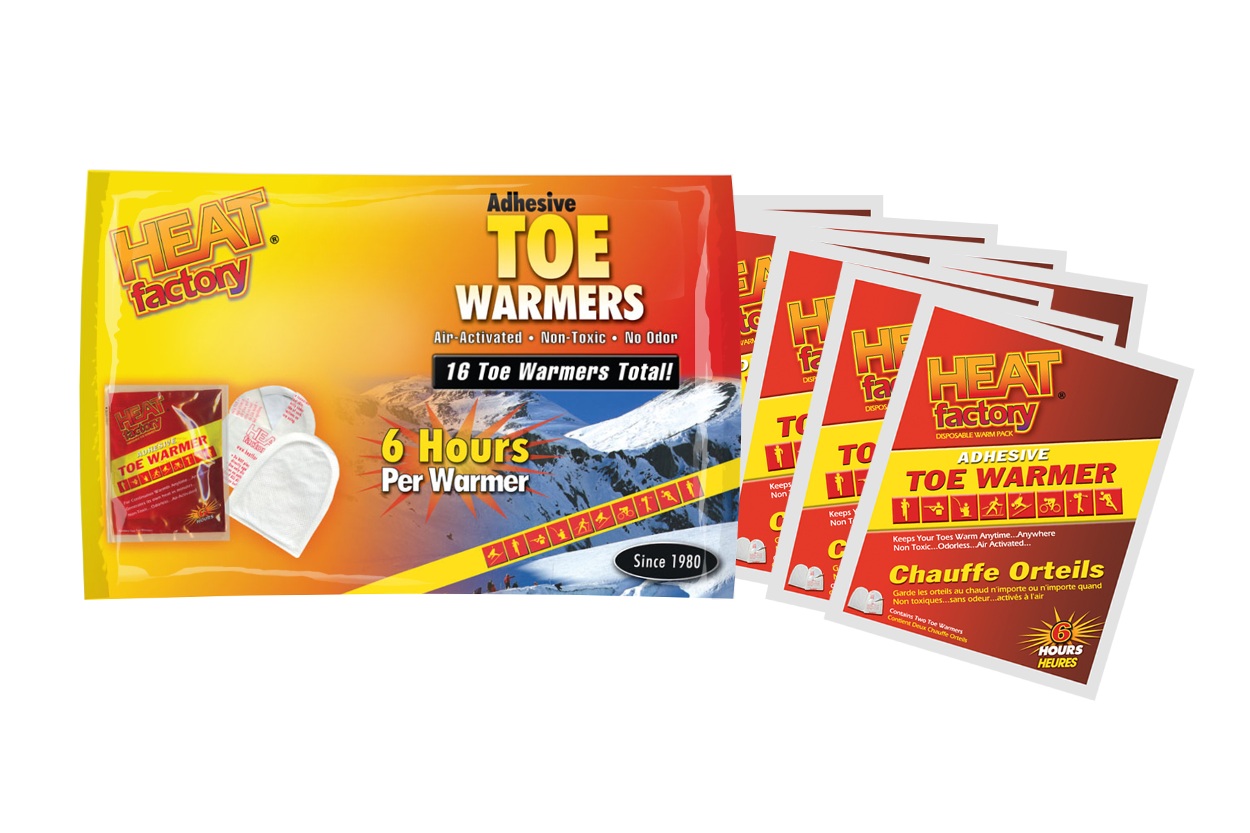 Heat Factory Adhesive Toe Warmer Big Pack