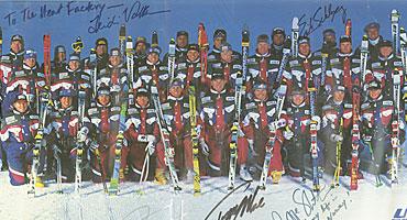 1994 Olympic U.S. Ski Team