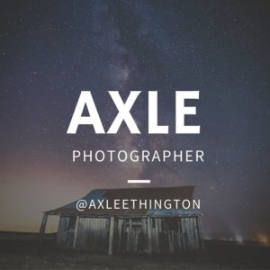axle ethington biography